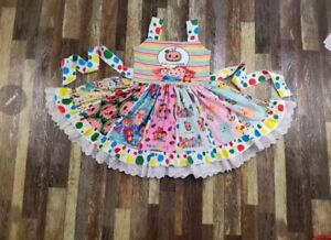 CocoMelon Birthday Party Boutique Dress