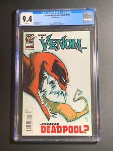 Venom/Deadpool: What If? #1 CGC 9.4 What If Venom Possessed Deadpool?