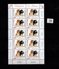 // MONACO 2004 - MNH - ANIMALS - DOGS