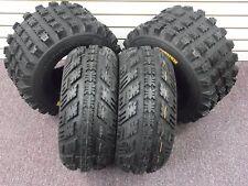 22x7-10 & 20x10-9 AMBUSH ATV TIRES SET 4  Yamaha Raptor 660 700 700R