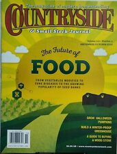 Countryside & Small Stock Journal Sept Oct 2016 Future of Food FREE SHIPPING sb