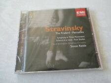 Stravinsky - The Firebird - Petrushka - Simon Rattle - 2 CD - Neu & OVP