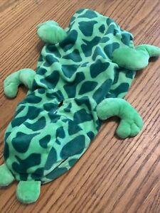 Dog size medium Frog costume