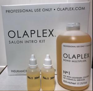 OLAPLEX SALON  No.1 BOND MULTIPLIER.17.75 oz/ 525ml & Dosing Dispenser (SEALED)