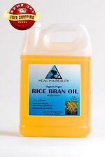 RICE BRAN OIL ORGANIC by H&B Oils Center UNREFINED COLD PRESSED PURE 7 LB