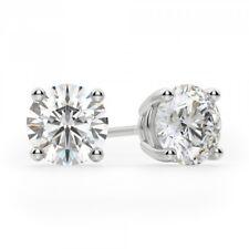 5.50ct 14k White Gold Diamond Earring