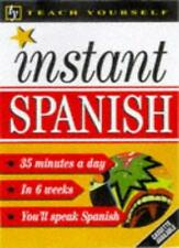 Teach Yourself Instant Spanish (TYL),Elisabeth Smith