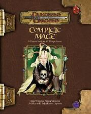 Complete Mage by Skip Williams & Ari Marmell 3.5 D&D Dungeons & Dragons Supplemt