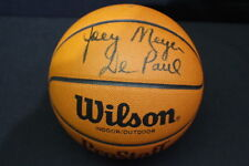 DePaul Blue Demons Coach Autographed Signed BASKETBALL Ray Joey Meyer Doug Bruno