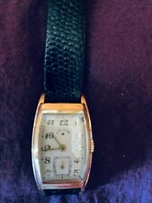 ELGIN NATIONAL GOLD WRIST WATCH, MOD LORD ELDGIN 21 J