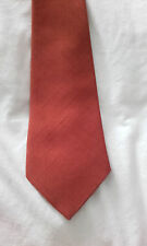 VTG 1940's 1950's NECKTIE ROCKABILLY TIE BURNT ORANGE SIMPSON PICADILLY keiron