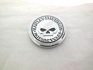 HARLEY DAVIDSON ORIGINAL OEM GENUINE Willie G Skull Medallion Stick it Anywhere