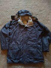 Vintage Cabelas Goretex Thinsulate Parka Coat Hooded Jacket Medium Gray Jacket