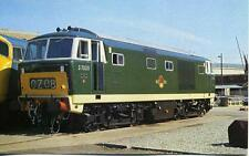 Diesel Locomotive Hymek Class 35 D7029 Swindon 1979 OPC Postcard