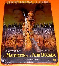 LA MALDICION DE LA FLOR DORADA Curse of the Golden Flower -DVD R2- Precintada