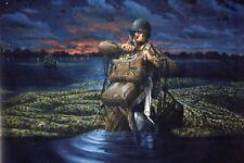 WW2 - CP -le 505° régiment de la 82° Airborne dans les marais de Carentan