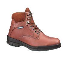 Wolverine W03122 DuraShocks Sr Direct-Attach Soft Toe Work Boots Men's Sz 8 Wide