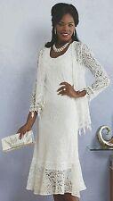 plus sz 16W Giselle Jacket Dress wedding church dinner party by Ashro new