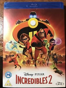 Incredibles 2 [Blu-ray] 7 Slipcase new sealed