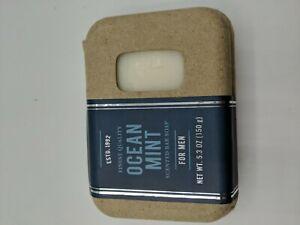 Men's Scented Bar Soap Ocean Mint (Finest Quality) Masculine 5.3