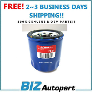 GENUINE ! OIL FILTER AC DELCO PF64 for 19-21 BUICK CADILLAC CHEVY GMC 12696048