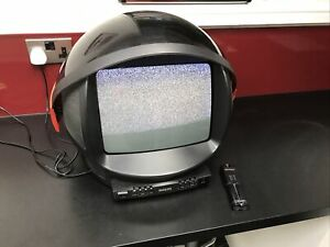 Vintage Philips Discoverer Space Helmet TV 13 Inch Retro Gaming