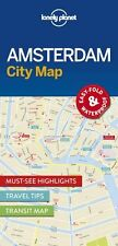Lonely Planet Amsterdam City Map (Travel Guide) New Map Book Lonely Planet