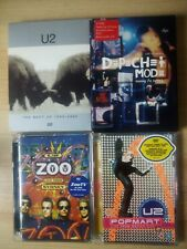 LOT 4 DVD U2 LIVE SYDNEY ZOO POPMART MEXICO BEST 1990-2000 DEPECHE MODE MILAN