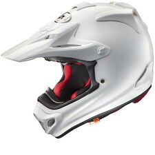 Arai MX-V MXV Plain White Motocross MX Offroad Race Helmet Adults XLarge 61-62cm