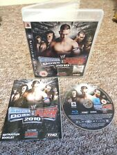 WWE Smackdown Vs Raw 2010 - Sony PS3 Game - With MANUAL! Fast & Free P&P!