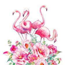 5D DIY Flamingo Flower Diamond Painting Embroidery Cross Stitch Kit Craft Gift