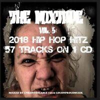 THE MIXTAPE VOL. 5 HIPHOP HITZ 57 TRACKS ON ONE CD MEGAMIX DJ MIX