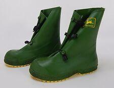 John Deere Rubber Rain Boots Made in USA Sz  6-8