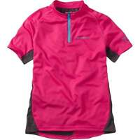 Madison Trail Youth Short Sleeve Cycle Cycling Bike Jersey