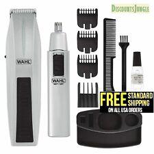 WAHL Cordless Hair Clipper Cutting Machine Kit Shaving Grooming Trimmer Beard
