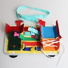 Lernen Sensorischen Beschäftigt Bord Spielzeug 2-5 Jahr Alt Reise Schnalle