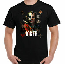 Rare The Joker T-Shirt Batman Robin Playing Card Joaquin Phoenix Suicide Squad