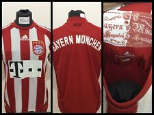 BAYERN MUNICH MUNCHEN FUSSBALL TRIKOT DEUTSCHLAND 2009 JERSEY MAILLOT VINTAGE