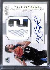 2012-13 Panini National Treasures Colossal Patch Autograph #6 Kevin Love