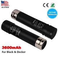 For Black & Decker 3.6V Battery VersaPak VP100 VP105 VP110 VP130 VP143 VP142 NEW