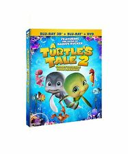 A Turtle's Tale 2: Sammy's Escape from Paradise (DVD/Blu-Ray/3D... Free Shipping