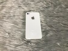 Apple iPhone 4S White Replacement Back Door Cover As Is