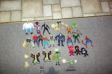 Huge lot of Loose Vintage Marvel Spiderman Figures Kingpin Green Goblin Sandman