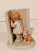 "Ceramic Figurine Balliol Corp #4531 ""In Disgrace"" Bessie Pease Guttman Girl VTG"