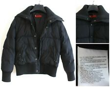 LEVI STRAUSS & CO Women's Down Jacket Size 10 Small Puffer Black s0966