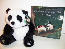 KOHL'S CARES FOR KIDS - PANDA PLUSH & BOOK - IT'S TIME TO SLEEP, MY LOVE - NEW