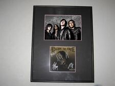 Escape the Fate Ungrateful Signed Framed Matted CD Book 5x7 Photo Craig Mabbitt