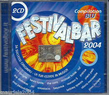 FESTIVALBAR 2004 BLU *5 (2004) 2CD NUOVO Mousse T. feat Emma Lanford. Is it 'cos