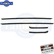 69 70 Impala Custom Caprice Outer Window Felt Fuzzies Windowfelt Kit OE Hardtop