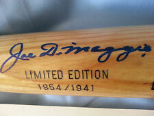 Joe DiMaggio Autographed Signed Game Model Bat Yankees Ltd Edition 1854/1941